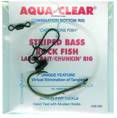 Aqua Clear Striped Bass Fish Finder Rig