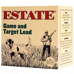 "Estate Game and Target Load 20 Ga 2.75"" 6 Shot 7/8 oz 25 Rounds"