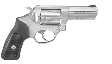 Ruger SP101 Stainless Steel Double-Action Revolver