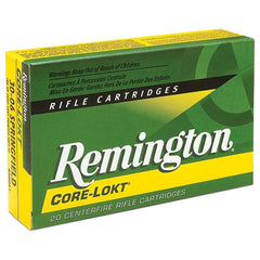Remington Core-Lokt .30-06 Springfield 180 Grain Pointed Soft Point 20 Rounds