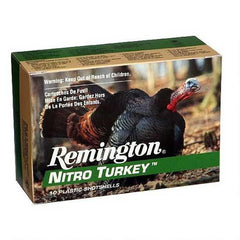 "Remington Nitro Turkey 12 Ga 3.5"" 5 Shot 2 oz 10 Rounds"