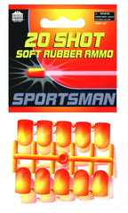 Parris Sportsman Soft Rubber Ammo 20 Shots