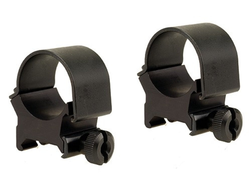 "Weaver Detachable Top Mount 1"" Scope Rings with Thumbscrews"