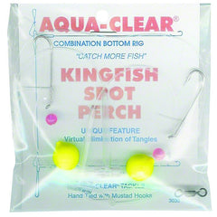 Aqua Clear Rig Kingfish/Spot/PerchFloat Red Bead Size 8