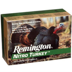 "Remington Nitro Turkey 12 Ga 3.5"" 4 Shot 2 oz 10 Rounds"
