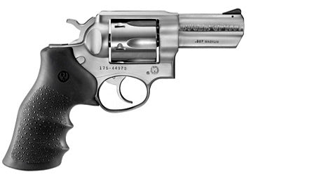 Ruger GP100 Standard Stainless Double-Action Revolver