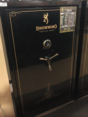 Browning Select ST34 Wide Gloss Black with Gold Trim Gun Safe