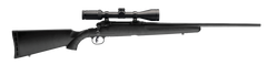 Savage Axis II Black Synthetic Bolt-Action Rifle with Scope