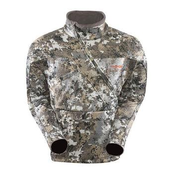 A Sitka Fanatic Lite Jacket Opidfade Elevated II Front View