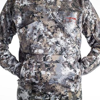 A Sitka Fanatic Lite Jacket Opidfade Elevated II Pocket View