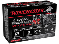 "Winchester Long Beard XR 12 Ga 3"" 4 Shot 1.875 oz"