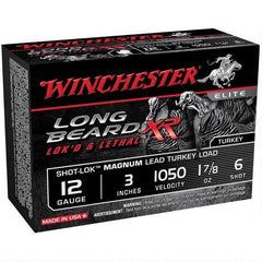 "Winchester Long Beard XR 12 Ga 3"" 6 Shot 1.875 oz"