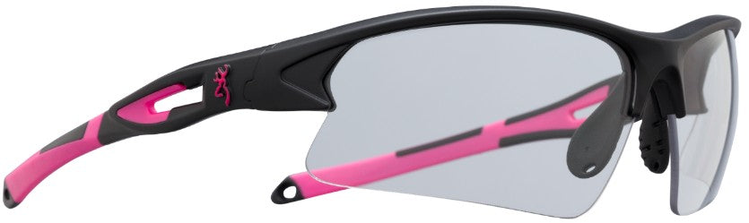 Browning On-Point Black/Pink Shooting Glasses