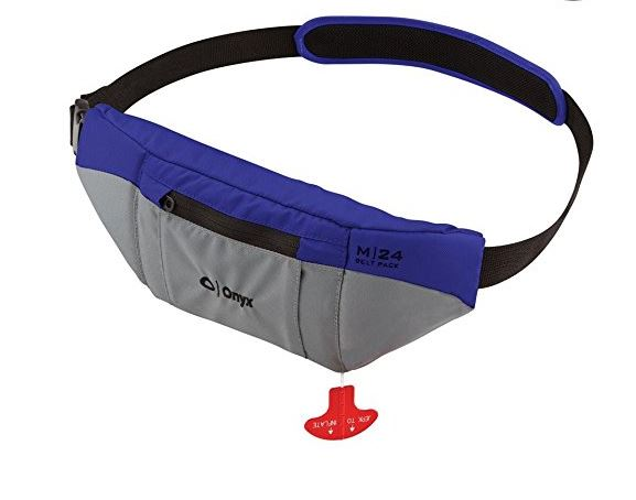 Onyx M-24 Manual Blue Inflatable Belt Pack