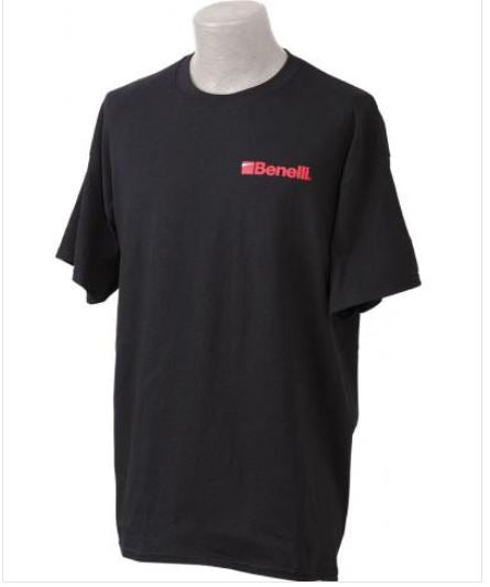 Benelli Red Logo Black T-Shirt