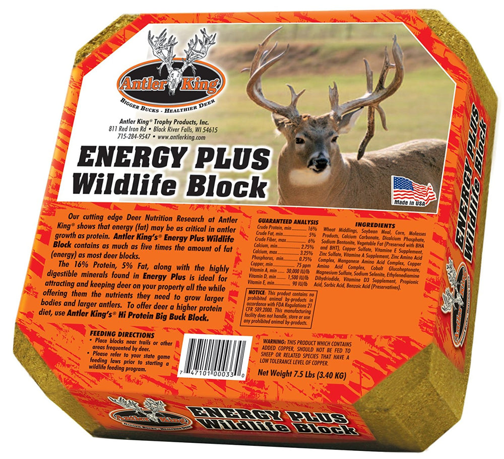 Antler King Energy Plus Deer Block 7.5 lbs