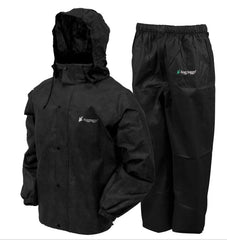 Frogg Toggs All Sport Black Rain Suit