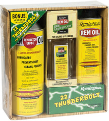Remington Rem Oil 100th Anniversary Gift Set with .22 LR Ammo