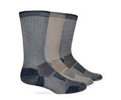 Wise Blend Men's Everyday Large Crew Denim Socks