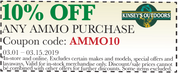 10% OFF Any Ammo Purchase