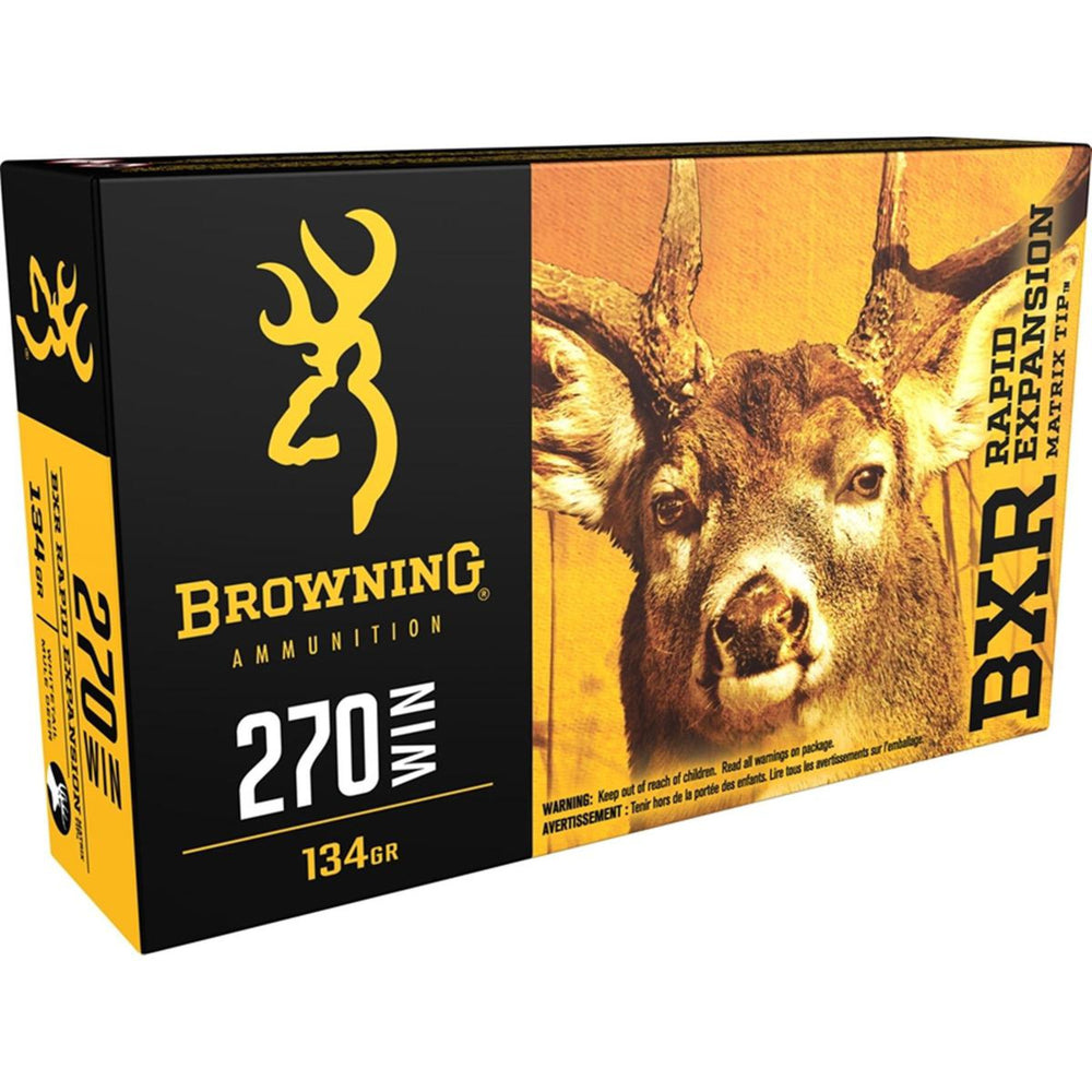 Browning Deer BXR .270 Win 134 Grain 20 Rounds