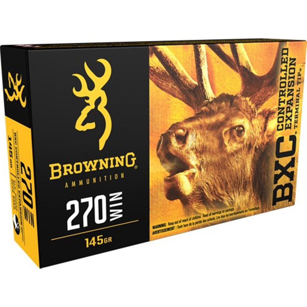 Browning Big Game BXC .270 Win 145 Grain 20 Rounds