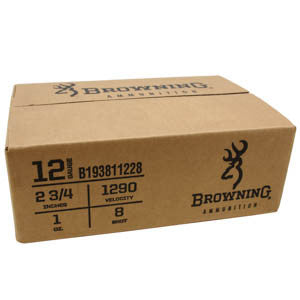 "Browning Dove-Clay 12g 2.75"" 8 shot Case"
