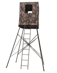 Big Dog 14' 2 Person Guard Tower Treestand with Enclosure
