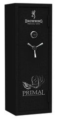 Browning Primal PRM 12 Textured Black with Chrome Trim Gun Safe