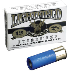 "Lightfield Hybird Express 12 Ga 2.75"" 1.2 5oz Lead Slug 5 Rounds"