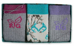 Realtree Ladies Socks Gift Box 3 Pack