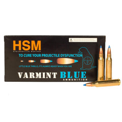HSM Varmint .22-250 Rem 55 Grain BlitzKing 20 Rounds