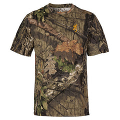 Browning Wasatch-CB Short Sleeve Shirt Mossy Oak Break-Up