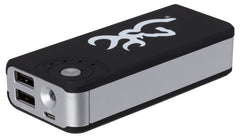 Browning Power Bank USB Charging Station with Light