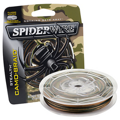 Spiderwire Stealth Camo Braid Fishing Line 125 Yards