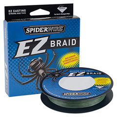 Spiderwire EZ Braid Moss Green Fishing Line 110 Yards