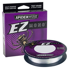 Spiderwire EZ Mono Fluoroescent Clear Blue Fishing Line 220 Yards