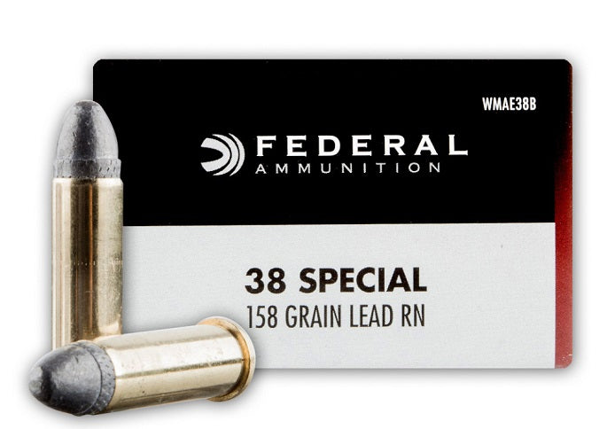 Federal Champion .38 Special 158 Grain RN 50 Rounds