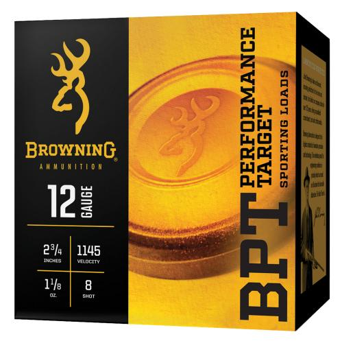 "Browning BPT 12 Ga 2.75"" 8 Shot 100 Rounds"
