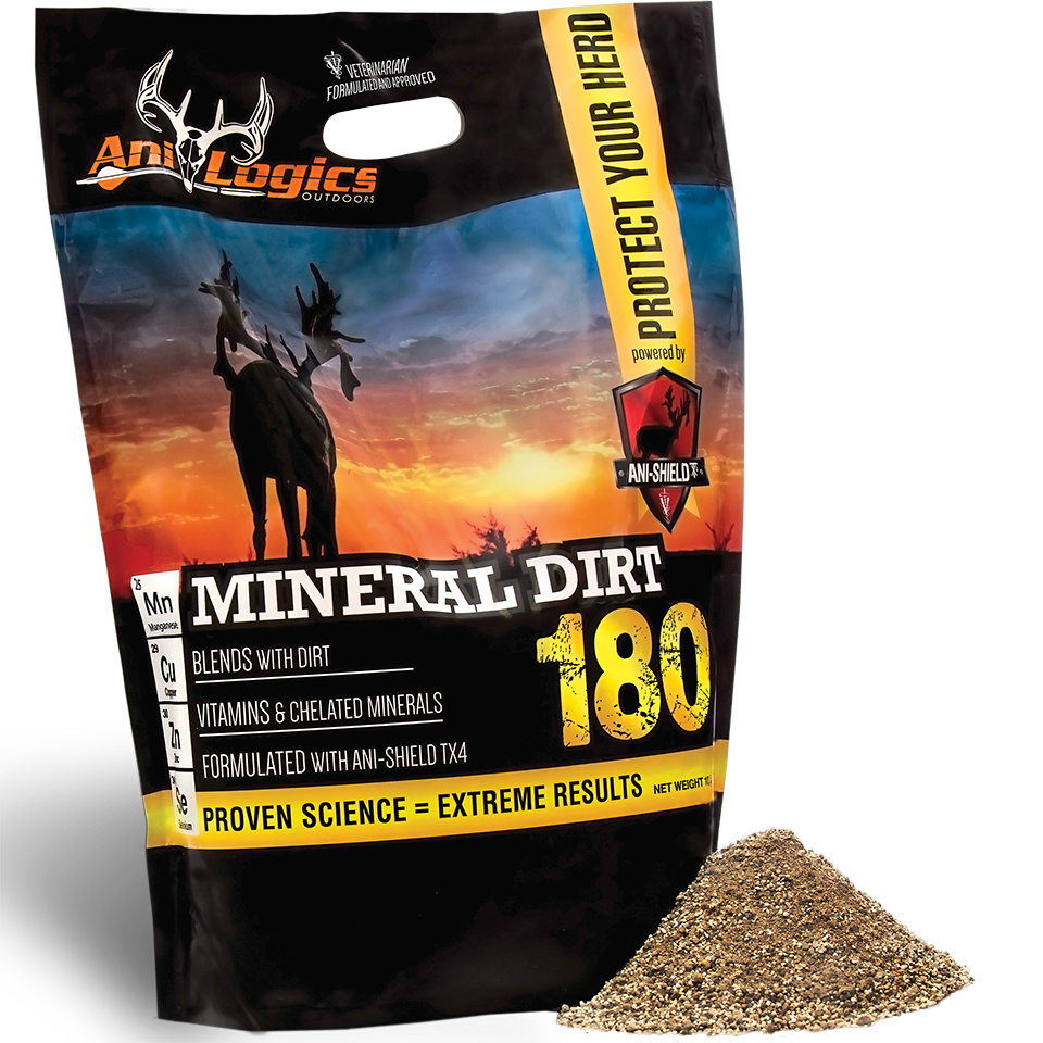 Ani-Logics Mineral Dirt 180 Deer Mineral 10 Pound Bag