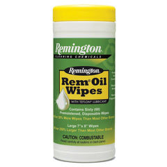 Remington Rem Oil Wipes Pop-up Canister 60 Count