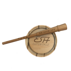 Esh Custom Calls Laminate Signature Glass with matched Hickory Striker