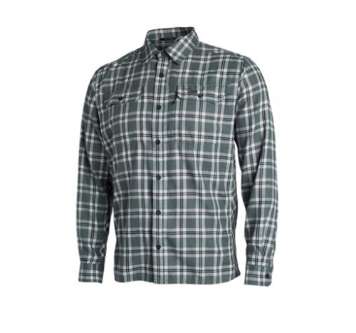 Sitka Frontier Shirt Lead Plaid