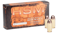 HSM Training .40 Smith & Wesson 180 Grain RNFP-Hard 50 Rounds