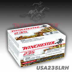 Winchester USA .22 LR CP HP 36 Grain 235 Rounds