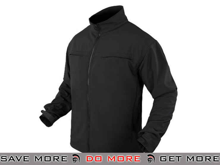 Condor Covert Soft Shell Jacket (Black / Small) Jackets / Sweaters / Hoodies- ModernAirsoft.com