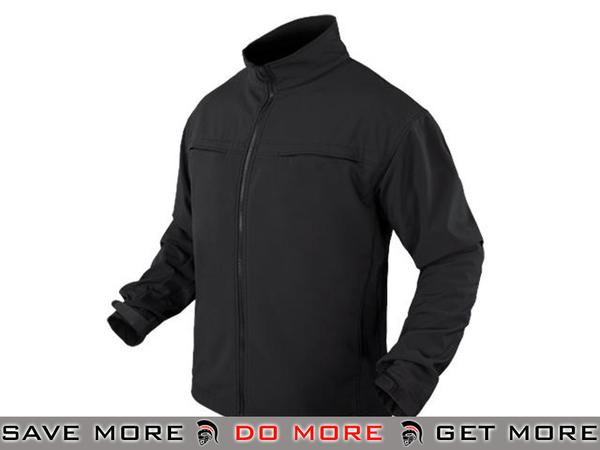 Condor Covert Soft Shell Jacket (Black / XX-Large) Jackets / Sweaters / Hoodies- ModernAirsoft.com