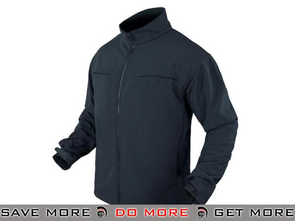 Condor Covert Soft Shell Jacket (Navy / X-Large) Jackets / Sweaters / Hoodies- ModernAirsoft.com