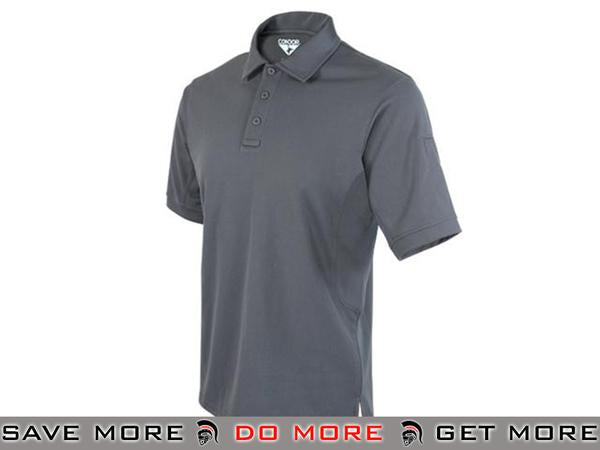 Condor Performance Tactical Polo (Graphite / Large) Shirts- ModernAirsoft.com