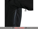 Condor Aegis Hard Shell Waterproof Jacket (Black / Medium) Jackets / Sweaters / Hoodies- ModernAirsoft.com